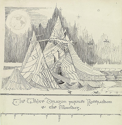Tolkien Drawings-6