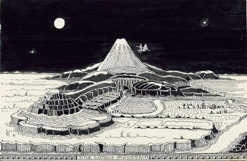 Tolkien Drawings-7
